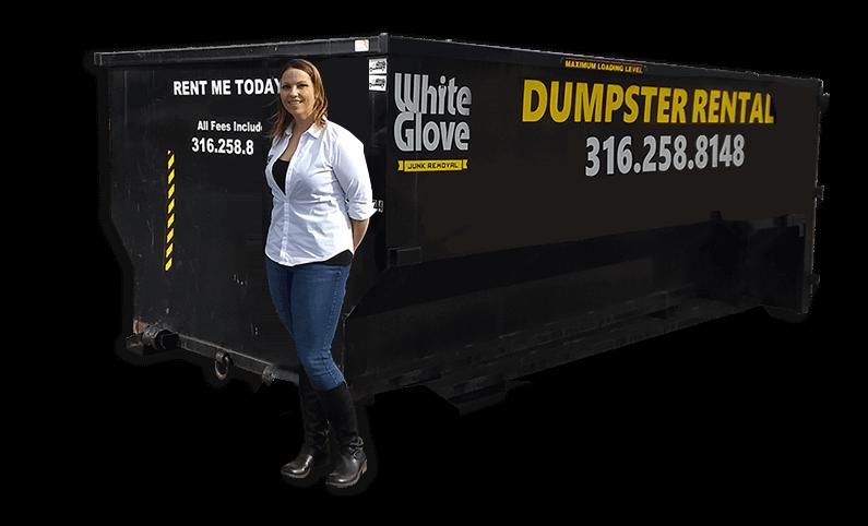 Wichita 21 yard Dumpster